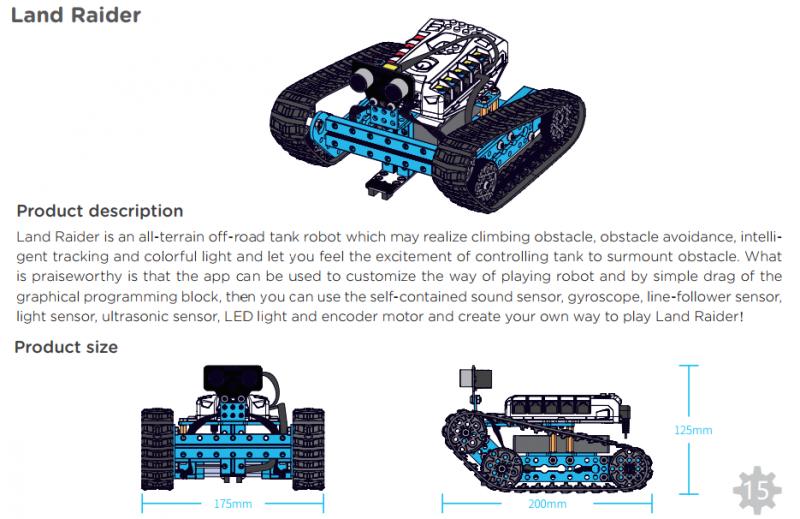 lắp ráp robot mbot ranger
