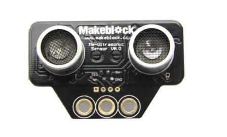 cảm biến sóng siêu âm trên robot mBot