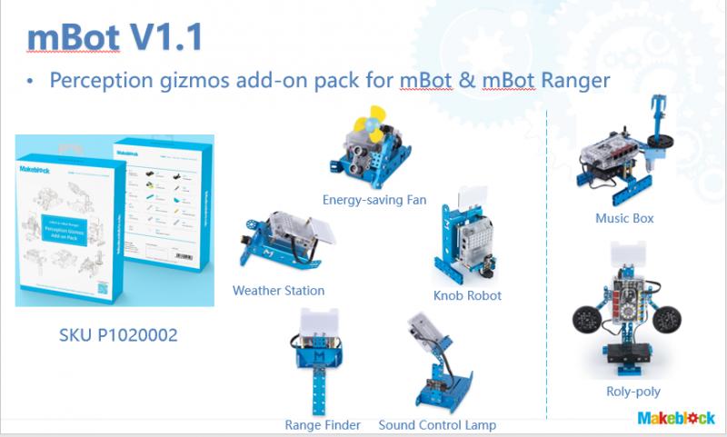 mở rộng mBot 5