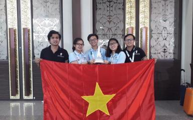 Việt Nam vô địch cuộc thi WOR 2018 - WORLD ROBOT OLYMPIAD