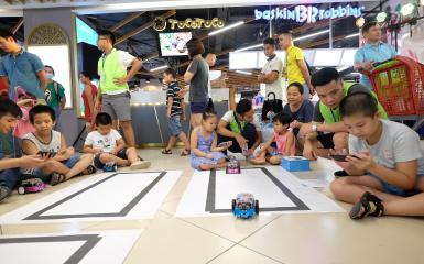 Robot giáo dục người bạn đồng hành giúp trẻ phát triển một cách toàn diện