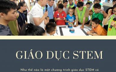 Như nào là một chương trình STEM chất lượng
